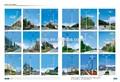 De alta calidad, el mejor precio de la calle la luz del poste, 5m-12m, solo& armas de doble