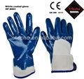 Guante recubierto de nitrilo, pesado guantes de seguridad industrial, la seguridad del manguito 388 la norma en