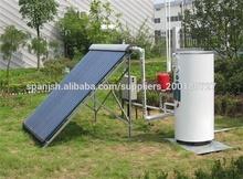 dividir calentador de agua solar