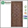 la melamina de madera moldeada hdf compuesto hoja de la puerta