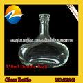 Chongqing diseño único de doble cristal al por mayor de vino mini botellas de Licor de pared proveedor