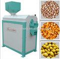 500-4000kg/h automática máquina de maíz pelado