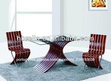 Atacado moderna sala de jantar conjuntos 1+4