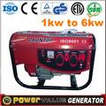 Para uso en el hogar china 2kw 2.5kw 3kw 4kw 5kw 6kw generador eléctrico precio para la venta con un bajo nivel de ruido