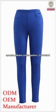 para mujer leggings azules de alta calidad