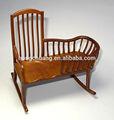 Muñeca house1:12 escala de madera muebles de madera en miniatura del eje de balancín