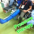 masaje de la pierna de la máquina para la terapia física de tpu con la pierna de la manga de presión alterna