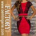 beau rouge belle trendy retour robe de soirée jeune fille