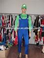 proveedor de china de hombre nuevo super luigi mario bros hermanos chicos de fantasía traje vestido disfraz de halloween