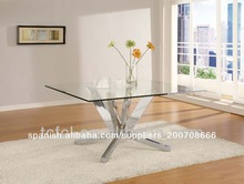Cruz de acero inoxidable base de mesa de comedor tc-848