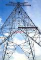 132kv torre de acero celosía de transmisión de energía eléctrica