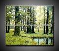 el más nuevo hecho a mano en blanco y negro del árbol de pintura para la decoración