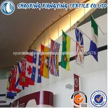 Bandera de la pared con serigrafía y la impresión del pvc del poste, diseño personalizado son aceptadas