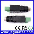 12v 10a ct633 dc macho hembra conector para circuito cerrado de televisión