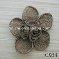 pp cx64 de zapatos de paja de moda zapatos de la decoración de flores