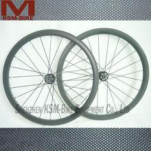 cyclocross route de roue roues en carbone de carbone cyclocross 38mm profonde