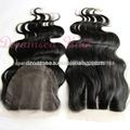 cabello humano barato 3 forma parte de cierre