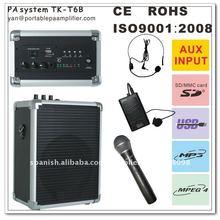 inalámbrico de alta calidad de la enseñanza del amplificador TK-T6b