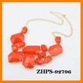 ZHPS-92796 Sparkling Collar strass geometría