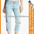 Vente chaude de mode le plus récent 2013 déchirés. stright jean designer, jean dame, miss me jeans,( hyw751)