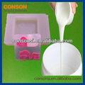 moldes de silicona para el jabón y de velas
