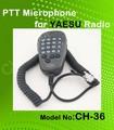 Yaesu mh- 36b6j transceptor micrófono ptt