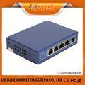 4 porta poe switch 24v/48v poe injector