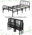 cama plegable solo metal
