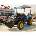 modelo 254 25hp jinma tractores mahindra con 4 en 1 cargador frontal