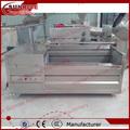 industrial pelador de patatas y lavadora
