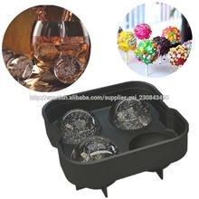 Silicona de alta calidad de la bola de hielo del molde / del hielo Esfera Moldes