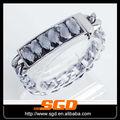 piedra de cristal pulsera baratos