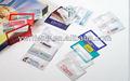 Tarjeta de crédito lupa, cartera lupa con el caso, promoción de la lupa de la lente