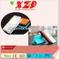 tirón de transporte de plástico cubierta de la caja para samsung i9500 teléfono inteligente