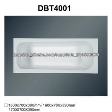 DBT4001 bañera de acrílico barato bañera