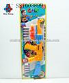 los juguetes de peluche juguetes de plástico pistola de dardos juego conjunto juguetes
