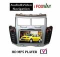 Nueva llegada de la pantalla táctil del coche de navegación gps 2008-2011 toyota yaris coches reproductor de dvd