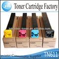 copiadora a color de toner para konica minolta tn611