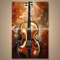 venta al por mayor de arte hecho a mano de la imagen de la música de pinturas abstractas