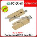 2014 Tarjeta de memoria flash USB 8gb,Lanyard memoria USB de madera