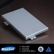 aluminio material de construcción para la pared interior
