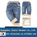 vaqueros caliente venta fleece rayado pantalones vaqueros niños nuevo estilo pantalones vaqueros pantalones jxk31049