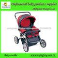 grande roda com ternura carrinho de bebê com footmuff