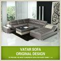 Vatar fabricantes de muebles, muebles de Foshan Shunde y sofá en forma de U