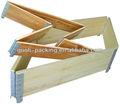 palette de boîte en bois pour le stockage et la maison
