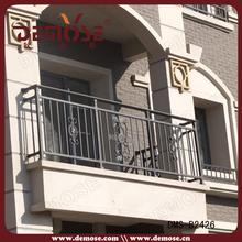 peso personalizado barandilla de hierro para balcón