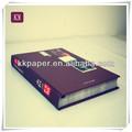 2014 Kraft cuadernos de papel en blanco