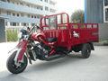 3 de la rueda de la motocicleta chopper de carga