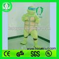 hi ce de calidad superior de las tortugas ninja traje de la mascota