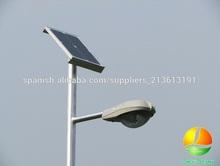 Luminaria 12v Calle Energia Solar Ampolleta Led con Poste - Nuevo 2014 - Muy Barato Fabricante